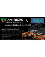 Werbetechnik Bundle - CorelDRAW Graphics Suite 2020 + CoCut 2021 Professional