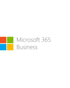Microsoft 365 Business  - Basic - Jahresabonnement Pre-Paid