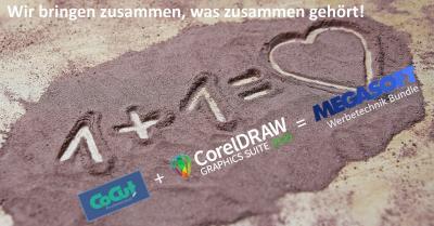 megasoft Werbetechnik Bundle - CoCut Professional & CorelDRAW Graphics Suite 2020
