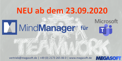 NEU: MindManager für Windows & Microsoft Teams!